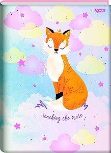 Caderno Brochura 1/4 Capa Dura Sortida Jandaia Dream 14cm x 20cm Com 80 Folhas R.69047 Unidade