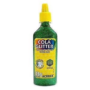 Cola Com Glitter Acrilex Verde 15gr R.029050206 Unidade