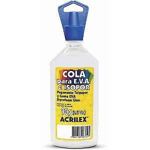 Cola Transparente de Isopor para Eva (tecido Emborrachado) Acrilex 90gr R.173900000 Unidade