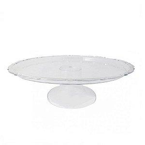 Mini Boleira Com Pedestal Transparente R.0834 Unidade