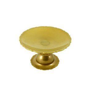 Suporte Para Mini Bolo Ouro 6cm Altura x 12cm Largura Unidade