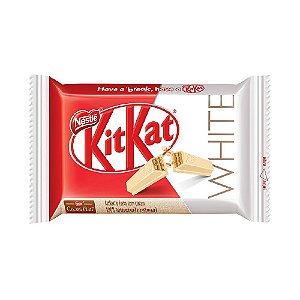 Wafer Chocolate Kit Kat Branco Nestle 41,5 Gramas Unidade