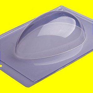 Forma de Acetato para Ovo de Páscoa Liso 350 Gramas 18cm x 24cm Unidade
