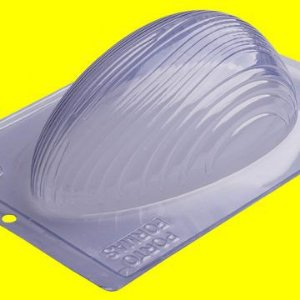Forma de Acetato para Ovo de Páscoa Riscado 750 Gramas 18cm x 24cm Unidade