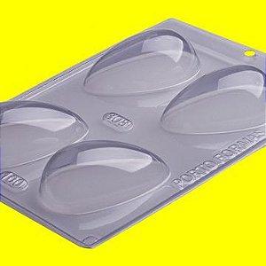 Forma de Acetato para Ovo de Páscoa Liso 100 Gramas 18cm x 24cm Unidade