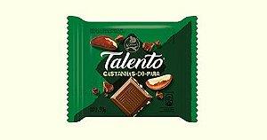 Chocolate Garoto Talento Tablete Castanhas Do Pará 90 Gramas Unidade