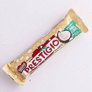 Chocolate Nestlê Prestígio Branco 33 Gramas Unidade