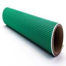 Papel Microondulado Verde 50cm x 80cm Unidade