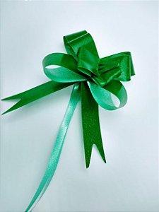 Laço Fácil Liso Cor Verde Escuro 18mm (1,8cm x 34cm) R.254102 Unidade