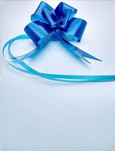 Laço Fácil Liso Cor Azul 30mm (3cm x 48cm) R.255100 Unidade