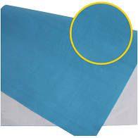Papel Camurça Textura Aveludada Azul Claro 40cm x 60cm Unidade