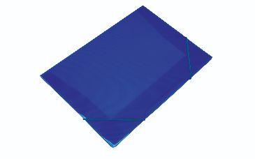 Mini Pasta Com Elástico Soft Com Aba Cor Azul 18cm x 24cm R.160109 Unidade