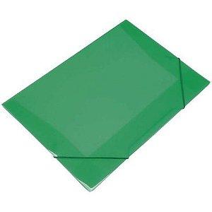 Mini Pasta Com Elástico Soft Com Aba Cor Verde 18cm x 24cm R.160108 Unidade