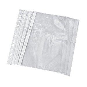 Envelope Plástico Transparente Com 11 Furos Tamanho A4  21cm x 29cm R.97717 Unidade
