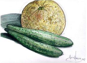 Desenho Aquarelado - 6 - Daniel Marques