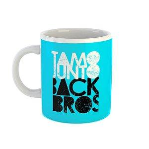 Caneca TamoJunto Back Bros azul