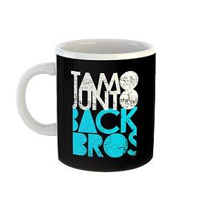 Caneca TamoJunto Back Bros preta