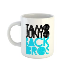 Caneca TamoJunto Back Bros branca