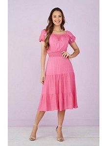Vestido Bromélia Tatá Martello 9065 Pink