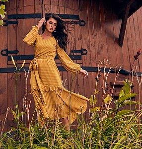 Vestido Ana Luiza V50730 Jany Pim - Moda Evangélica