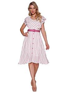 Vestido Aritana Fascínius Moda Evangélica - 13702