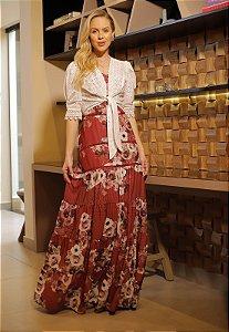 Vestido Betina 14669 Fascinius - Moda Evangélica