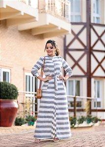 Vestido Longo de Linho - BoutiqueK