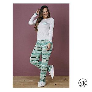 Pijama de Calça Verde 6200 Tata Martello - Conforto para dormir bem
