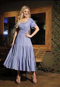 Vestido Fascinius Nanda 15220 - Moda Evangélica