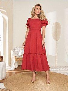 Vestido Kimberly 14961 Fascinius - Moda Evangélica