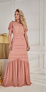 Vestido Regina 14822 Fascinius - Moda Evangélica