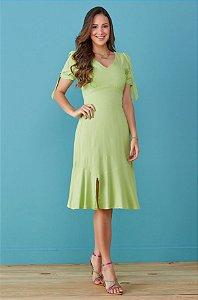 Vestido Tata Martello Larissa Verde 7159 - Moda Evangélica
