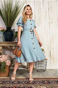 Vestido Maressa 15632 Azul Fascíniu's