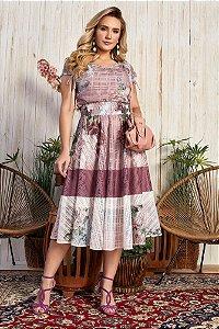 Vestido Layla Rosê 15708 Fascíniu's