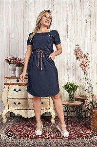 Vestido Elisa 15541 Azul Fascíniu's