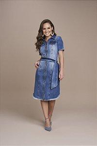 Vestido Jeans 105cm 5424 - Titanium