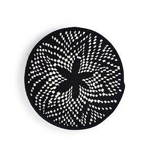 Moroccan Plate Black
