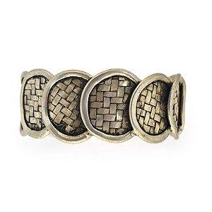 Bracelete Hmong Circles - silver