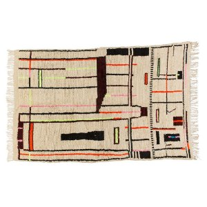 Tapete Moroccan Neon Beni Abstract 1,50 x 2,30m
