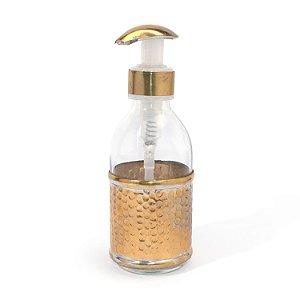 Dispenser Munir Dourada | 16,5x5,5 cm