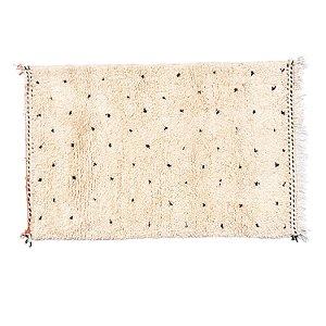 Tapete Beni Ourain Black Dots |1,0x0,60m