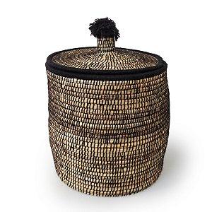 Cesta Barika | Arte Tribo Berber | 50x41 cm