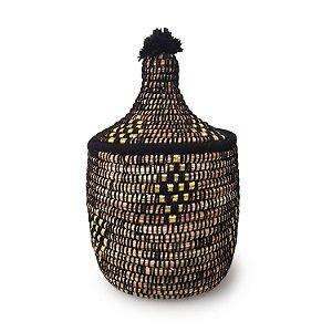 Cesta Izdiha | Arte Tribo Berber | 34x21 cm