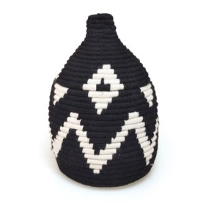 Cesta Nuha | Arte Tribo Berber | 24x15 cm