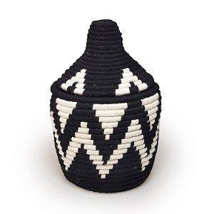 Cesta Inas | Arte Tribo Berber | 23x16,5 cm