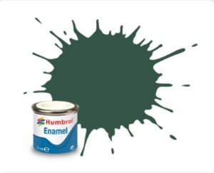 Humbrol  - Enamel 116 - U.S. Dark Green - Matt