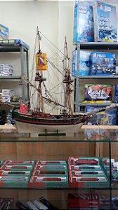 Oficina Naval - Galeão Otomano Século XIX (Sucata em madeira)