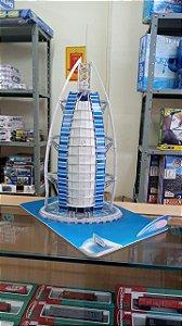 CubicFun - Burj Al-Arab (Montado) - Puzzle 3D (Sucata)