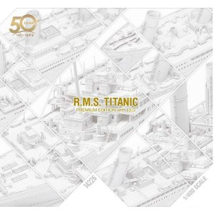 Academy - RMS Titanic Academy's 50th Anniversary Premium Edition with Led  - 1/48