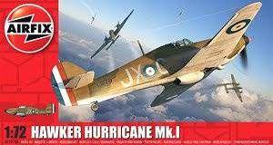 AirFix - Hawker Hurricane Mk.I - 1/72